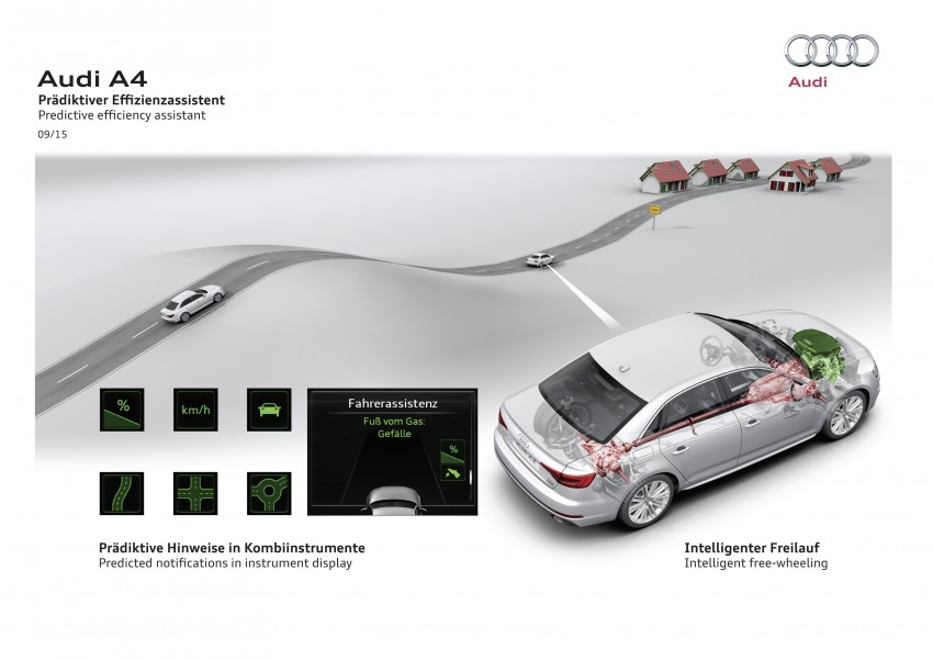 2016 B9 Audi A4 revealed – familiar looks, new tech Image #384051