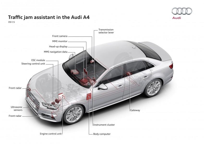 2016 B9 Audi A4 revealed – familiar looks, new tech Image #384052