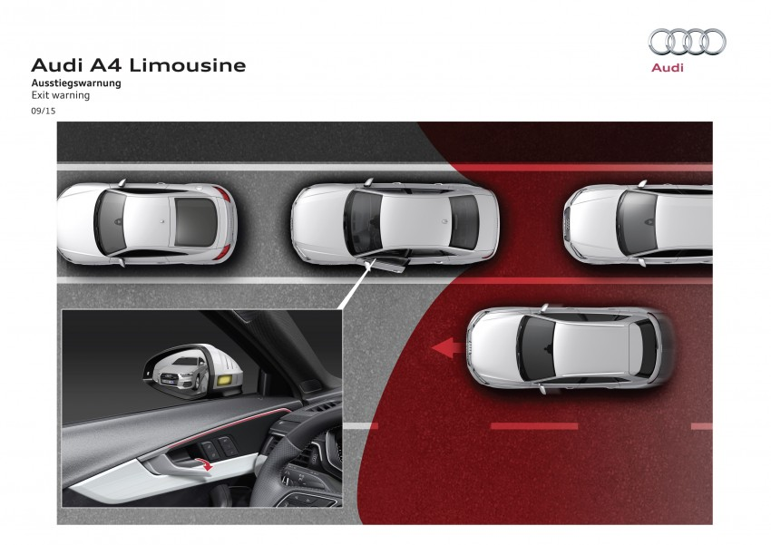 2016 B9 Audi A4 revealed – familiar looks, new tech Image #384054