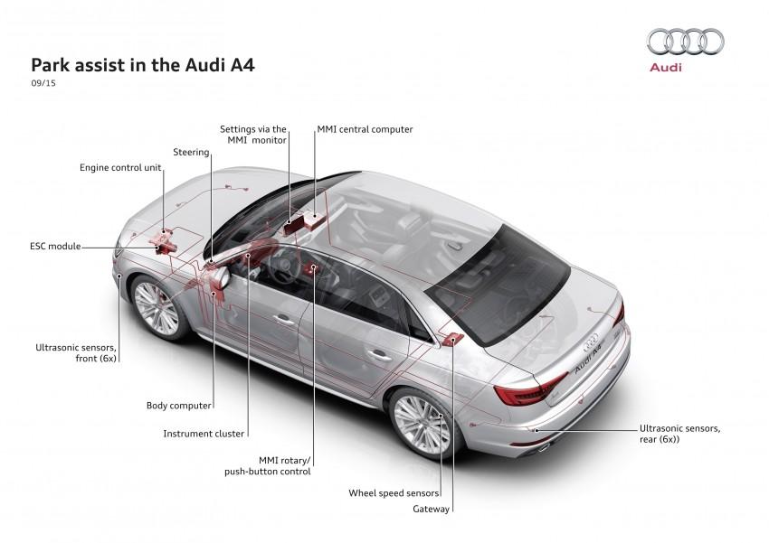 2016 B9 Audi A4 revealed – familiar looks, new tech Image #384057