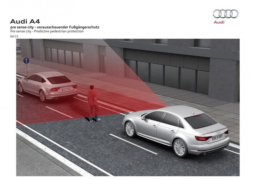 2016 B9 Audi A4 revealed – familiar looks, new tech Image #384059