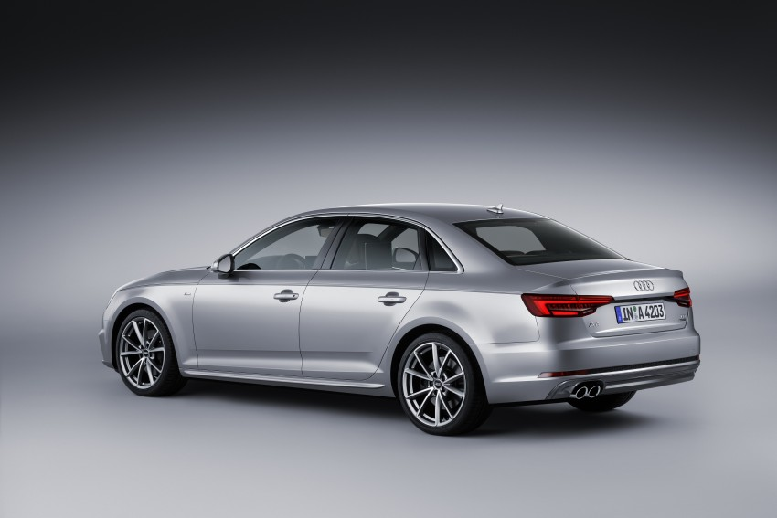 2016 B9 Audi A4 revealed – familiar looks, new tech Image #384067
