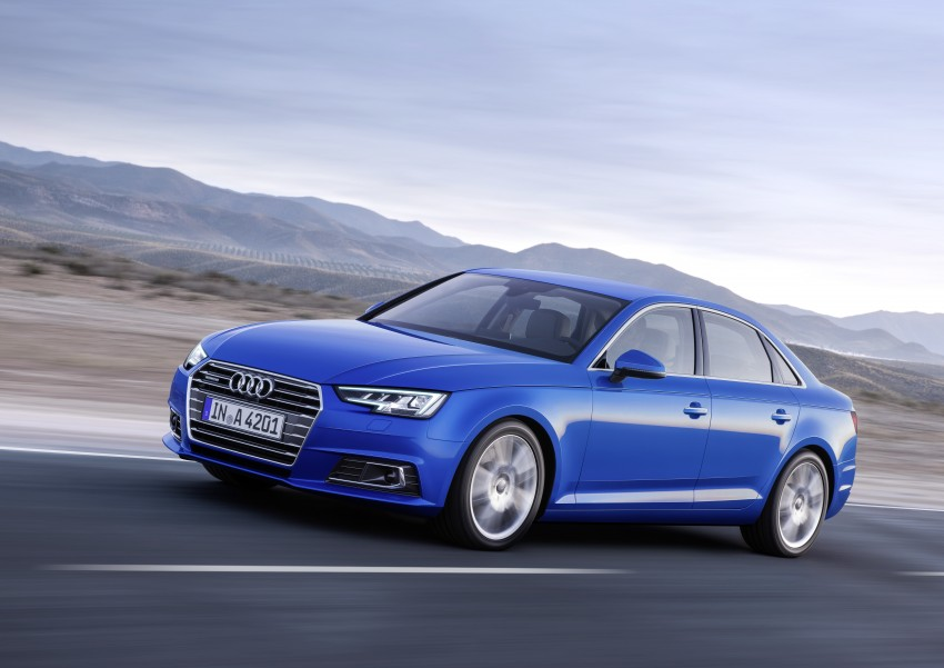 2016 B9 Audi A4 revealed – familiar looks, new tech Image #384072