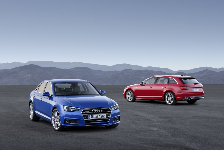 2016 B9 Audi A4 revealed – familiar looks, new tech Image #384076