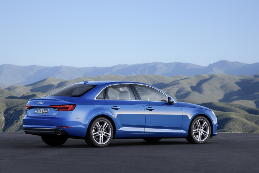 2016 B9 Audi A4 revealed – familiar looks, new tech Image #384079