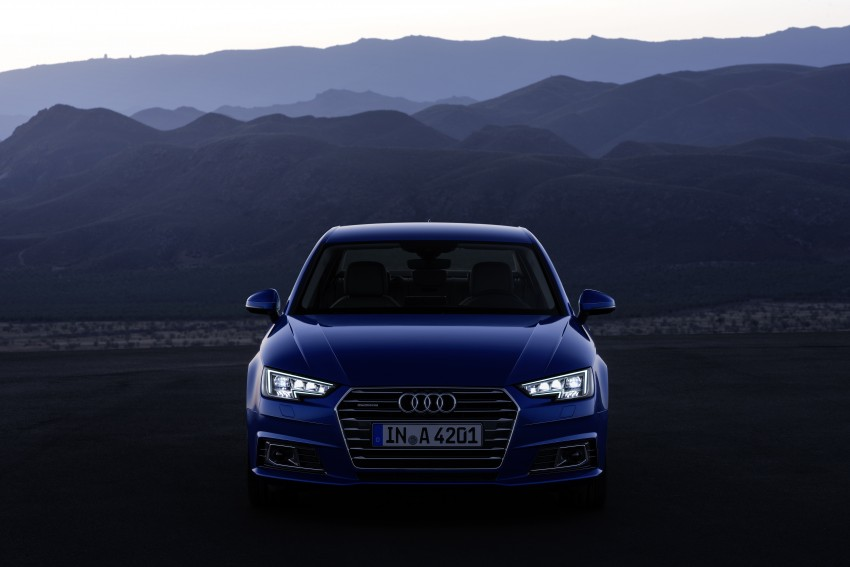 2016 B9 Audi A4 revealed – familiar looks, new tech Image #384081