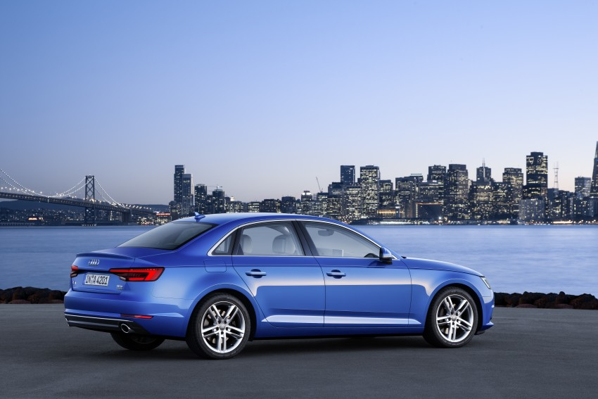 2016 B9 Audi A4 revealed – familiar looks, new tech Image #384083