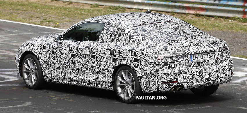 SPYSHOTS: 2017 Audi A5 caught for the first time Image #350954
