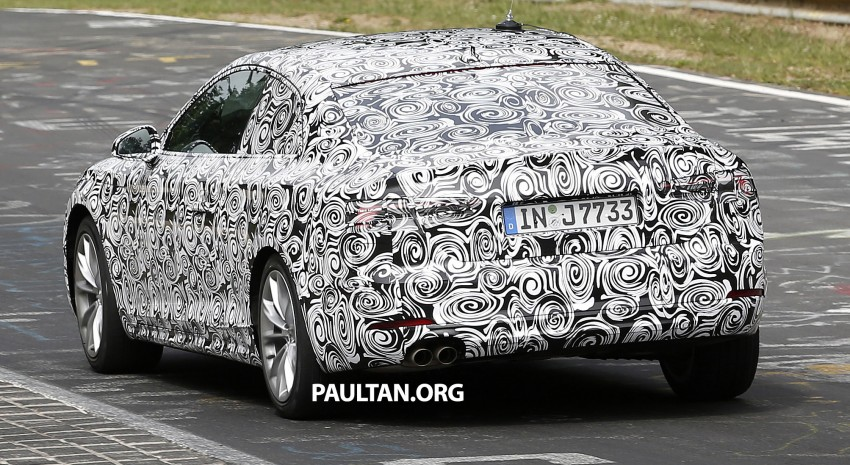 SPYSHOTS: 2017 Audi A5 caught for the first time Image #350953
