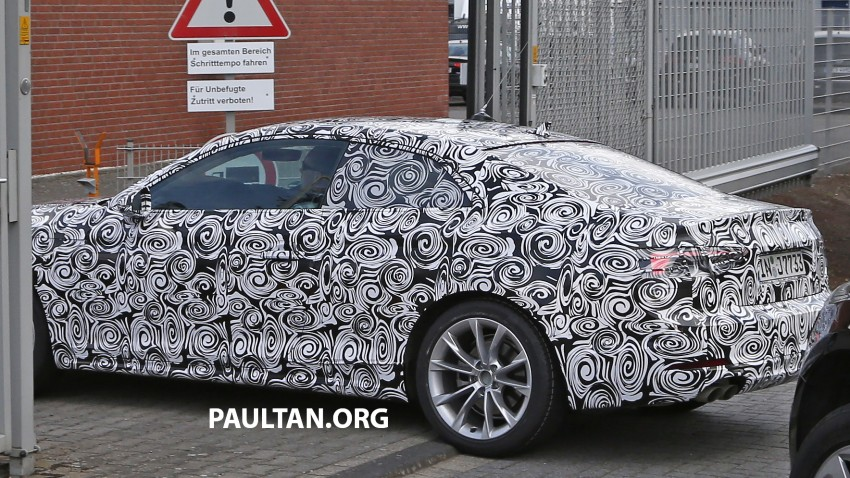 SPYSHOTS: 2017 Audi A5 caught for the first time Image #350655