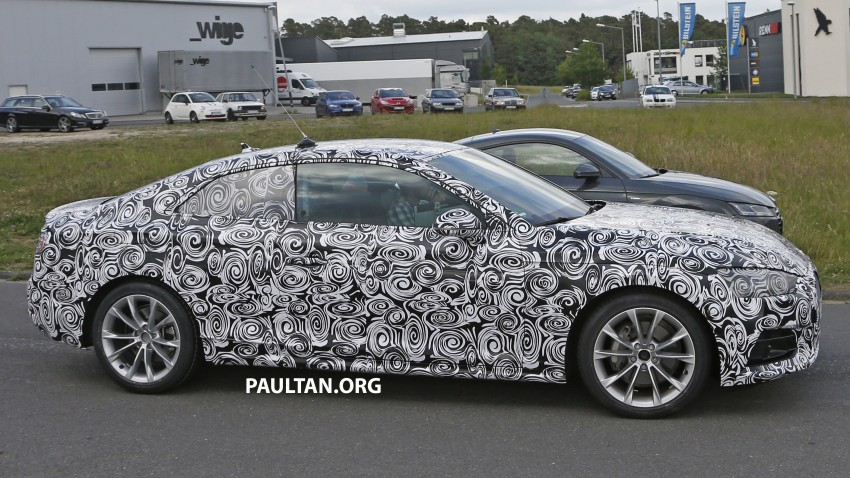 SPYSHOTS: 2017 Audi A5 caught for the first time Image #350636