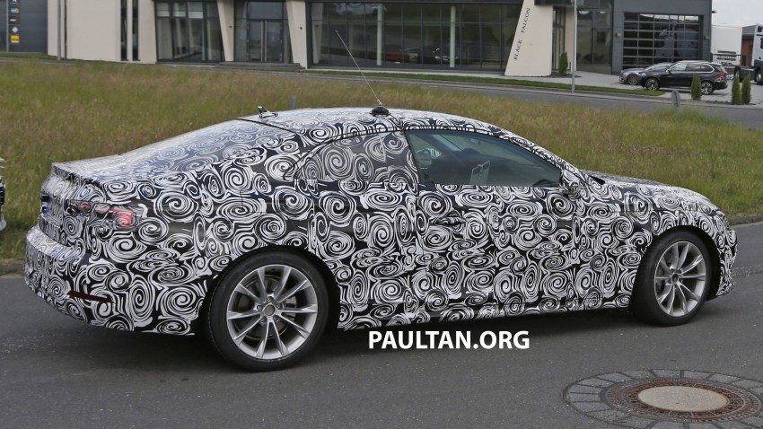 SPYSHOTS: 2017 Audi A5 caught for the first time Image #350638