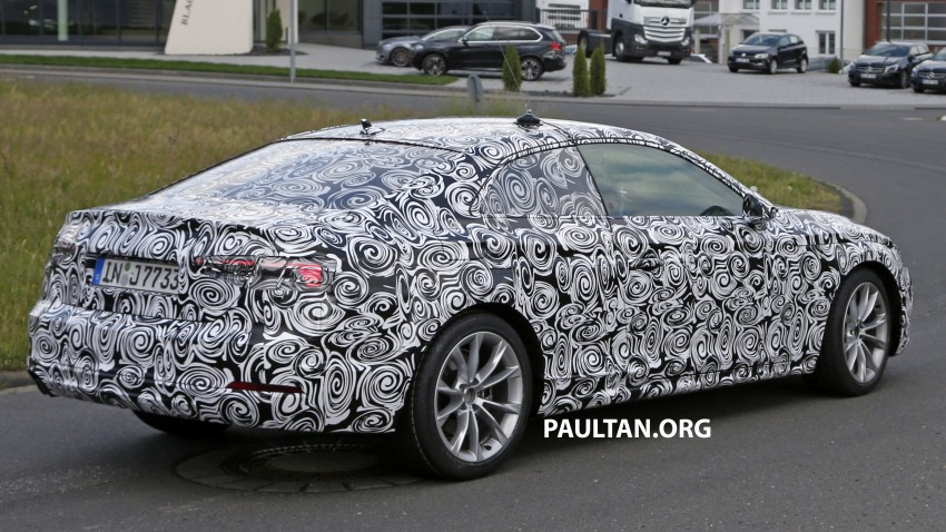 SPYSHOTS: 2017 Audi A5 caught for the first time Image #350649