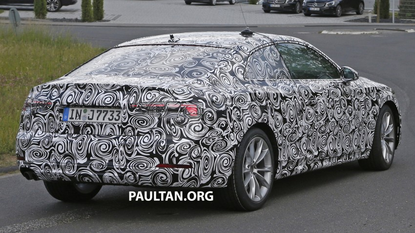 SPYSHOTS: 2017 Audi A5 caught for the first time Image #350650
