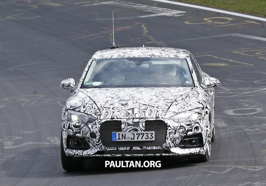 SPYSHOTS: 2017 Audi A5 caught for the first time Image #350977