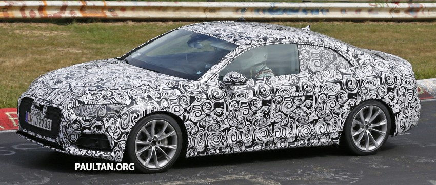 SPYSHOTS: 2017 Audi A5 caught for the first time Image #350974