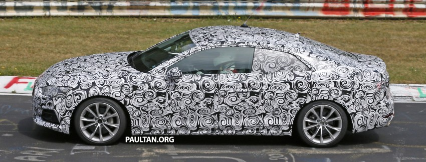 SPYSHOTS: 2017 Audi A5 caught for the first time Image #350973