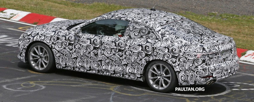 SPYSHOTS: 2017 Audi A5 caught for the first time Image #350972
