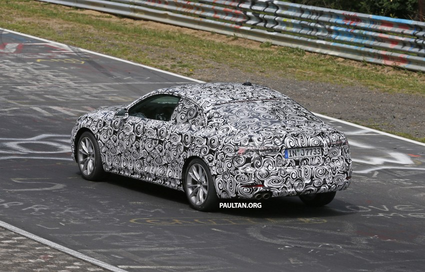 SPYSHOTS: 2017 Audi A5 caught for the first time Image #350992