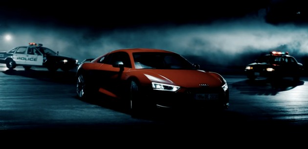 Audi-R8-Stuntman-Video