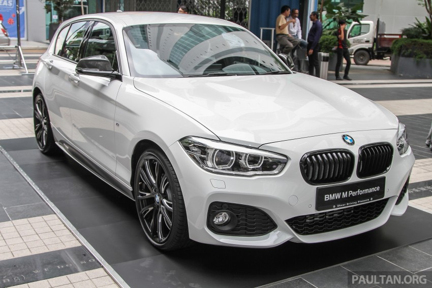 Bmw M Series >> BMW 1 Series facelift launched – 120i M Sport, RM220k Image 349857
