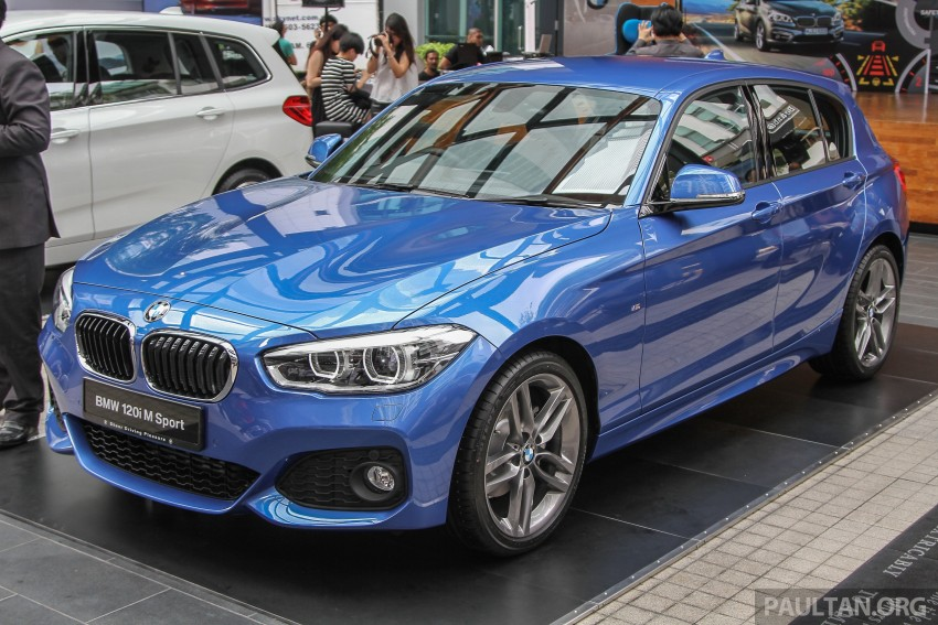 BMW 1 Series facelift launched – 120i M Sport, RM220k Image #349768