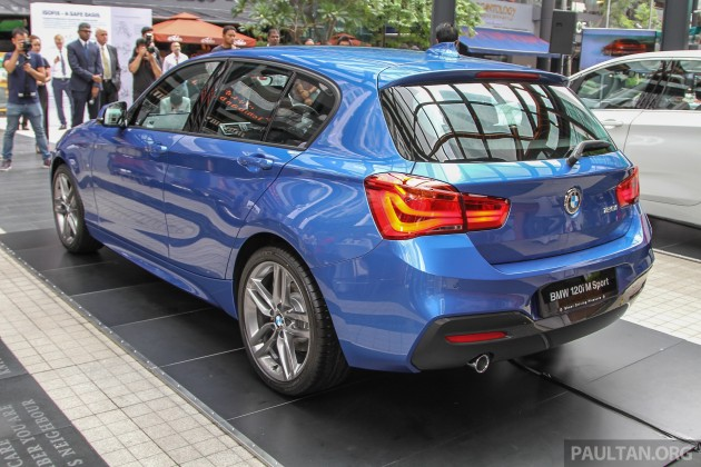Bmw 1 Series Facelift Launched 120i M Sport Ckd Rm220k
