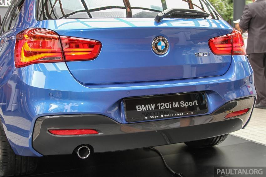 BMW 1 Series facelift launched – 120i M Sport, RM220k Image #349795