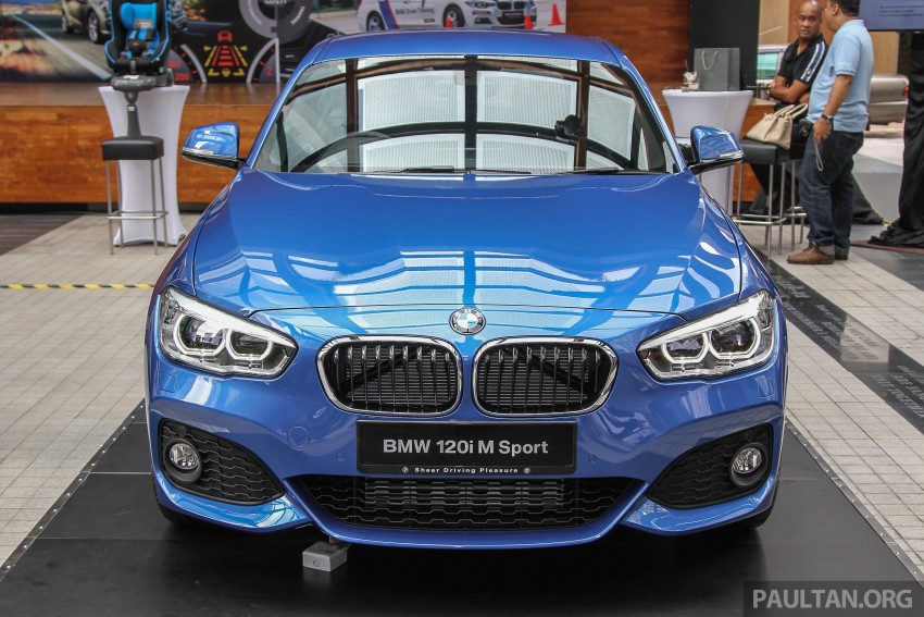 BMW 1 Series facelift launched – 120i M Sport, RM220k Image #349770
