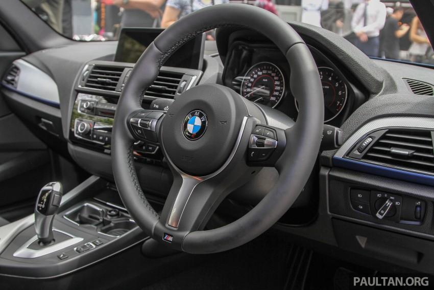 BMW 1 Series facelift launched – 120i M Sport, RM220k Image #349804