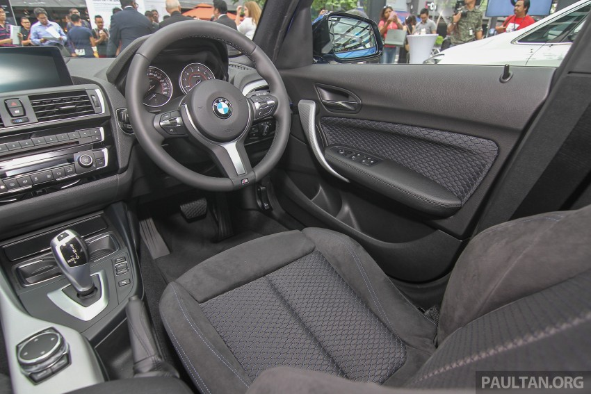 BMW 1 Series facelift launched – 120i M Sport, RM220k Image #349839