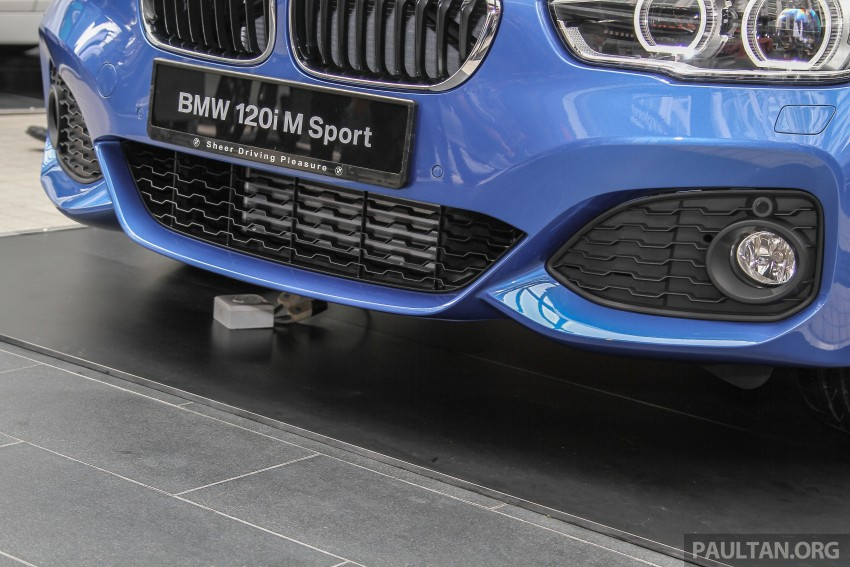 BMW 1 Series facelift launched – 120i M Sport, RM220k Image #349776