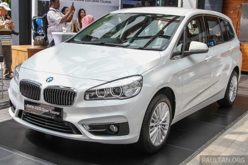 BMW 2 Series Gran Tourer launched – 220i, RM280k Image #349747