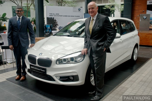 Bmw 2 Series Gran Tourer Launched 220i Rm280k