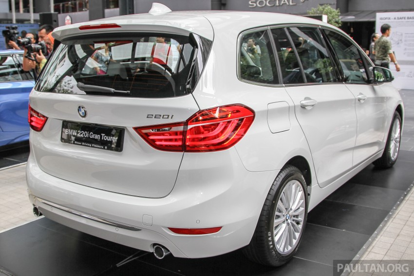 BMW 2 Series Gran Tourer launched – 220i, RM280k Image #349748