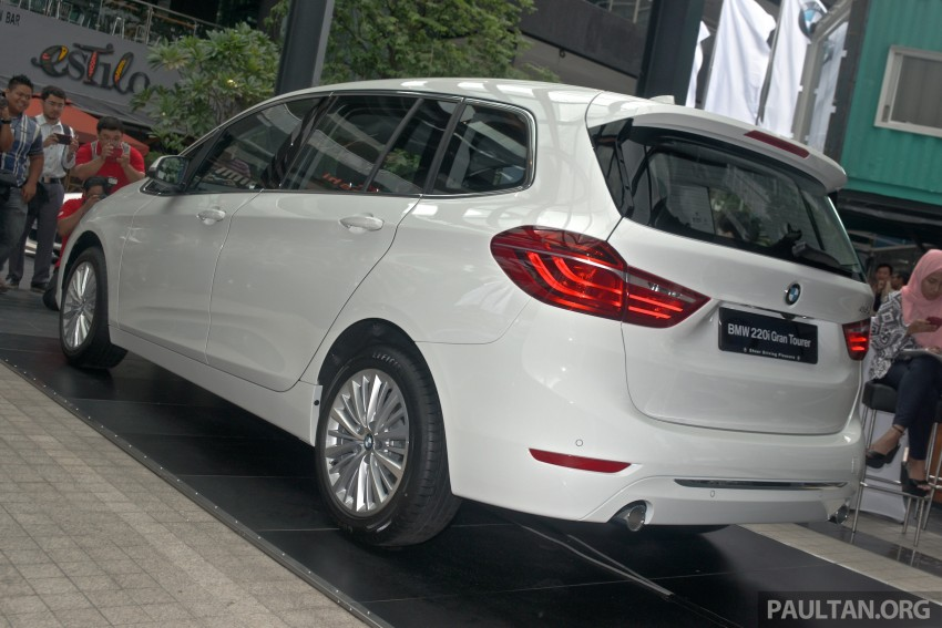 BMW 2 Series Gran Tourer launched – 220i, RM280k Image #349708