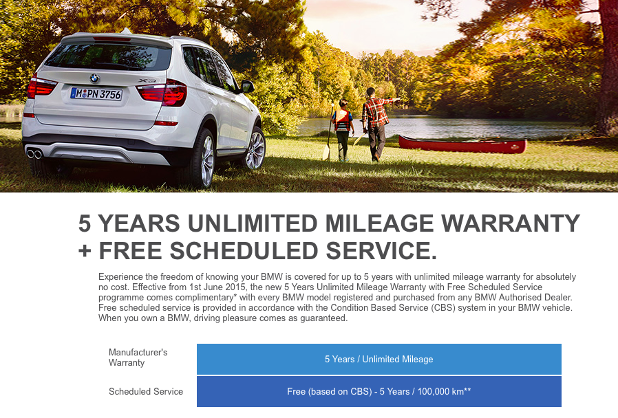 BMW Malaysia now offers five-year unlimited mileage ...