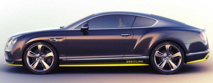 Bentley Conti GT Speed, the Breitling Jet Team Series Image #355586
