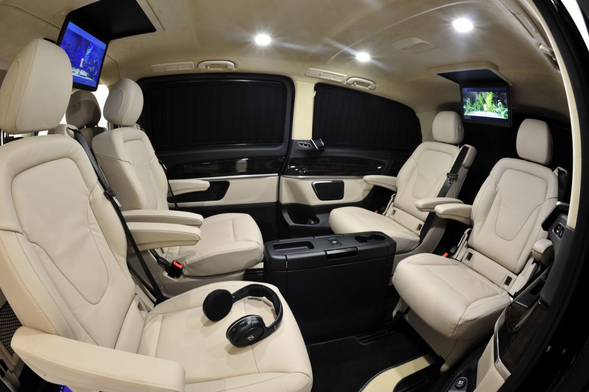 brabus tunes the mercedes benz v class v for vip. Black Bedroom Furniture Sets. Home Design Ideas