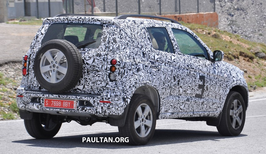 SPYSHOTS: Chevrolet Niva – Russian SUV testing Image #354645