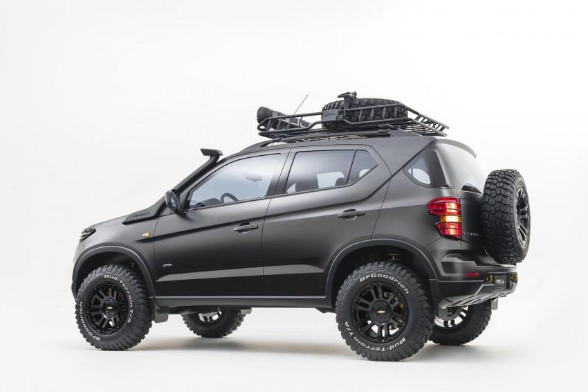 SPYSHOTS: Chevrolet Niva – Russian SUV testing Image #354625