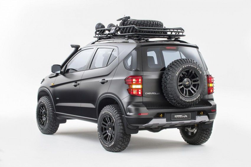 SPYSHOTS: Chevrolet Niva – Russian SUV testing Image #354626