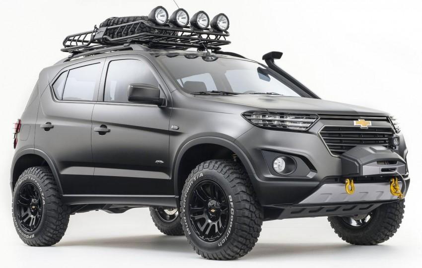 SPYSHOTS: Chevrolet Niva – Russian SUV testing Image #354629