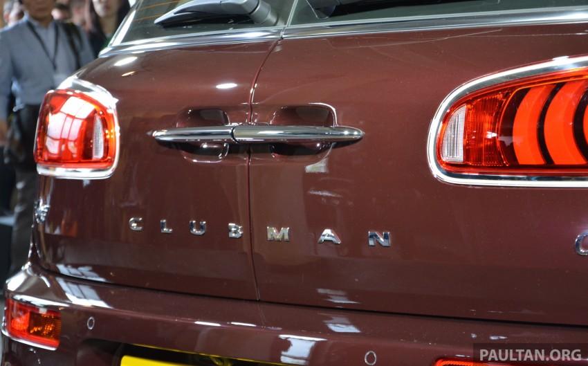F54 MINI Clubman – second-gen debuts in Berlin Image #354000