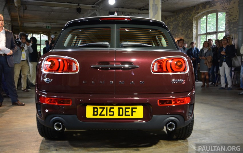 F54 MINI Clubman – second-gen debuts in Berlin Image #353987