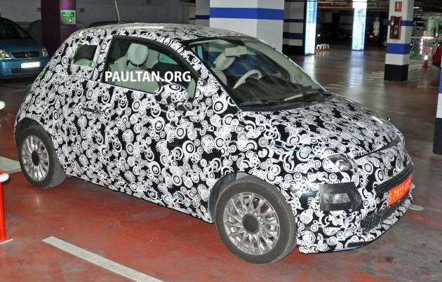 Fiat 500 Facelift 1