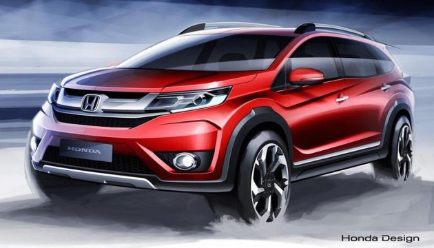 Honda BR-V - seven-seat budget SUV to debut soon