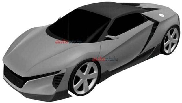 Unknown Honda sports car leaked – S2000 successor? Image #349292