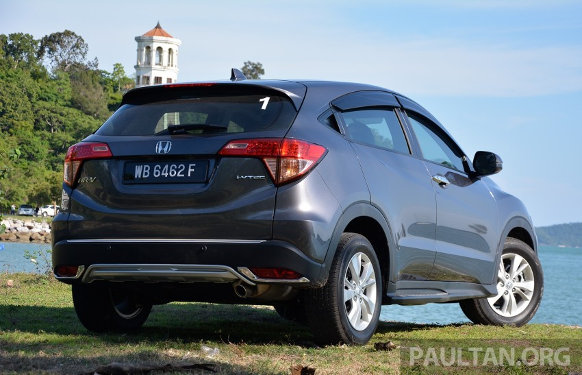 DRIVEN: Honda HR-V punches above its weight Image #346926