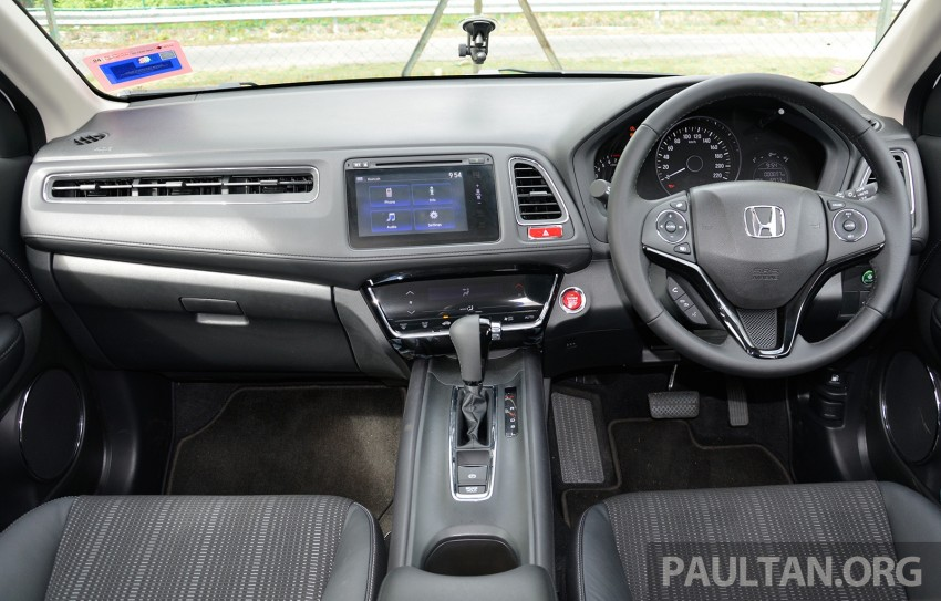 DRIVEN: Honda HR-V punches above its weight Image #346948